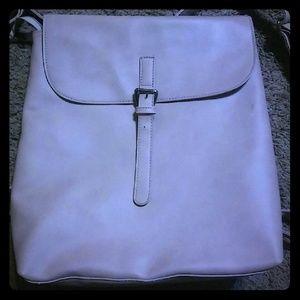 Handbags - Millennial Pink Backpack/Purse